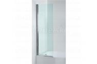 Jika TIGO vaňová zástena rovná pravá 150x60 cm, pearl glass, transparentné sklo 6 mm