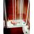 Ravak AVDP3-120 vaňová zástena, posuvné trojdielne dvere, Biele, výplň vzor Rain