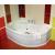 Ravak Rosa I - Asymetrická vaňa, 105x140, biela, Ľavá CI01000000 + vaň.krycie lišty