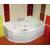 Ravak Rosa I - Asymetrická vaňa, 105x140, biela, Pravá CV01000000 + vaň.krycie lišty