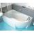 Ravak Rosa 95 - Asymetrická vaňa, 160x95, biela, Ľavá C571000000 + vaň.krycie lišty