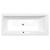 Sapho CLEO obdĺžniková vaňa 160x75x48cm, biela