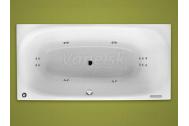 Santech PLUS obdĺžniková masážna vaňa 185x90 P Body 300 +autom.dohrievanie vody ZADARMO