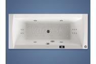 Santech LINEA obdĺžniková masážna vaňa 170x75 Comfort +kúpeľový olej Panpuri ZADARMO