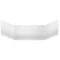 Polysan LIDIE obkladový panel čelný, biela (07312)