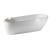 Sapho AQUATECH voľne stojaca vaňa 170x56x70cm biela,vr. sifónu