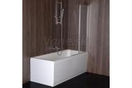Sapho RUIZ vaňová zástena 900mm, číre sklo