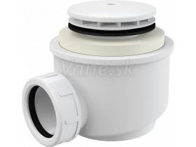 AlcaPlast Sifón vaňový/vaničkový 50, biely