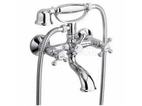 Sapho ANTEA vaňová batéria so sprchou, rozteč 150 mm, chróm