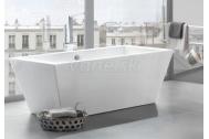 Knief CULTURE voľne stojaca akrylátová vaňa 180x80x60cm, 230l, biela