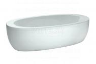 Laufen ALESSI voľne stojaca akrylátová vaňa 203x102cm +hliník.konštrukc.a opláštenie,biela