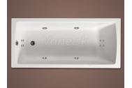 Santech SMART obdĺžniková masážna vaňa 170x72,5 Body 200 +autom.dohrievanie vody ZADARMO