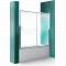 Roth LLV2 160/150 Zástena vaňová Posuvné dvere Briliant/Číre sklo